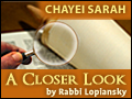 Chayei Sarah: Doubles and Burial