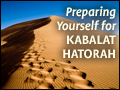 Preparing Yourself for Kabalat HaTorah