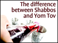 The Difference Between Shabbos and Yom Tov