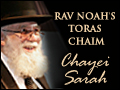 Chayei Sarah: Earning Your Cloak of Chesed
