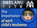 Shelanu: The Importance Of Each Child's Neshama