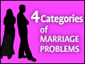 4 Categories of Marriage Problems