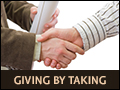 Giving by Taking