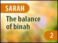 Sarah: The Balance of Binah - Part Two