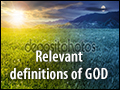 Relevant Definitions of God