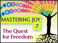 Mastering Joy Part Seven: The Quest for Freedom
