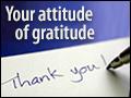 Your Attitude of Gratitude