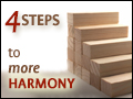 4 Steps to More Harmony