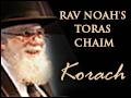 Korach: Dealing with Dispute