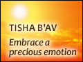 Tisha B'Av: Embrace a Precious Emotion